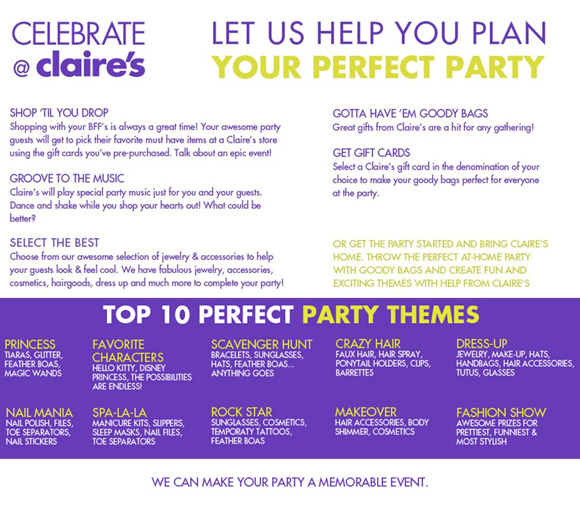 Foothills_Shopping_Claires_PartyPlan
