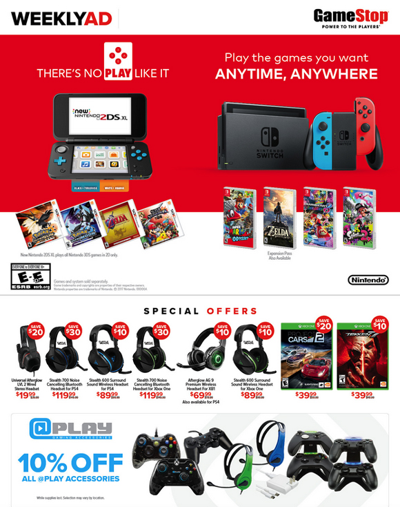 Foothills_Shopping_GameStop_WeeklyAd